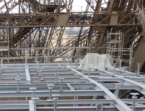 Rénovation de la Tour Eiffel